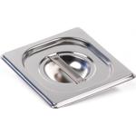 Крышка Luxstahl из нержавеющей стали для GN 1/6 фото, купить в Липецке | Uliss Trade