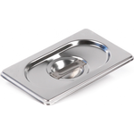 Крышка Luxstahl из нержавеющей стали для GN 1/9 фото, купить в Липецке | Uliss Trade