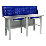 Металлический слесарно-столярный верстак WTS 200.F2/F2/F2.210 фото, купить в Липецке | Uliss Trade