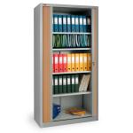 Шкаф архивный офисный КД-144 (4 полки) с дверьми-жалюзи