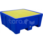 Контейнер для локализации разлива ТЖ 1300х1300х575 мм (525 литров) фото, купить в Липецке | Uliss Trade