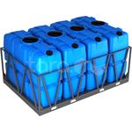 Пластиковая ёмкость в обрешётке 8000 литров фото, купить в Липецке | Uliss Trade