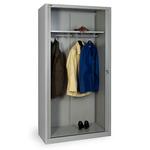 Шкаф архивный гардеробный КД-144К с дверьми-жалюзи фото, купить в Липецке | Uliss Trade