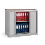 Шкаф архивный офисный КД-141 (1 полка) с дверьми-жалюзи фото, купить в Липецке | Uliss Trade