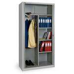 Шкаф архивный офисный, комбинированный КД-144К с дверьми-жалюзи фото, купить в Липецке | Uliss Trade