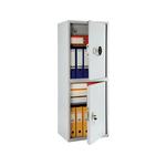 Шкаф бухгалтерский ПРАКТИК SL-125/2Т EL фото, купить в Липецке | Uliss Trade