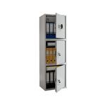 Шкаф бухгалтерский ПРАКТИК SL-150/3Т EL фото, купить в Липецке | Uliss Trade