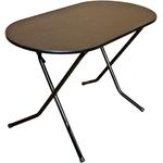 Стол складной овальный на Х-образном подстолье  900х600х750 фото, купить в Липецке | Uliss Trade