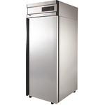 Холодильный шкаф из нержавеющей стали POLAIR CV107-G фото, купить в Липецке | Uliss Trade