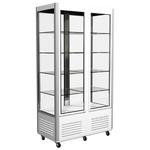 Холодильный шкаф Полюс Сarboma R800С с 4-х сторонним остеклением фото, купить в Липецке | Uliss Trade