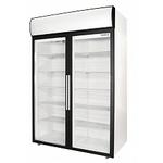 Холодильный шкаф со стеклянными дверьми распашными POLAIR DM110-S фото, купить в Липецке | Uliss Trade