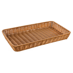 Корзинка пластиковая 530х325х65 мм коричневая фото, купить в Липецке | Uliss Trade