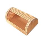 Хлебница бежевая овальная L/W/H, см 41/29/16 фото, купить в Липецке | Uliss Trade