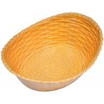 Хлебница пластиковая овальная L/W/H, см 21/16,5/6,8 фото, купить в Липецке | Uliss Trade