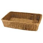 Подставка для выкладки коричневая прямоугольная L/W/H, см 38/29/9 ∅ фото, купить в Липецке | Uliss Trade