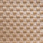 Салфетка сервировочная 45*33 см. широкое плетение, бежевая, пвх APS фото, купить в Липецке | Uliss Trade