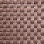 Салфетка сервировочная 45*33 см. широкое плетение, коричневая, пвх APS фото, купить в Липецке | Uliss Trade