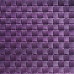 Салфетка сервировочная 45*33 см. широкое плетение сливовая, пвх APS фото, купить в Липецке | Uliss Trade