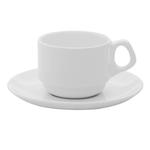 Пара чайная (чашка 220мл и блюдце 16см) Oxford фото, купить в Липецке | Uliss Trade