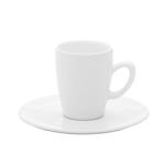 Пара кофейная (чашка высокая 75мл и блюдце 12см) Oxford фото, купить в Липецке | Uliss Trade