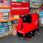Поломоечно-подметальная машина с цилиндрическими щётками GTX 34C фото, купить в Липецке | Uliss Trade