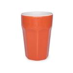 Стакан 300мл d7,5см h11,5см Oxford, керамика, цвет оранжевый фото, купить в Липецке | Uliss Trade