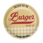 Тарелка для гамбургеров 26см, цвет желтый, Oxford фото, купить в Липецке | Uliss Trade