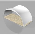 "Арочный шатер ""VIP модуль 10Х5м"" (50 кв.м.) фото, купить в Липецке | Uliss Trade"