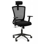 Кресло персонала Фьюжн с подголовником фото, купить в Липецке | Uliss Trade