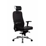 Офисное кресло серии SAMURAI S-3 ЧЕРНЫЙ ПЛЮС фото, купить в Липецке | Uliss Trade
