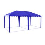Шатер-беседка Митек 5,0 х 2,5 синяя фото, купить в Липецке | Uliss Trade