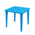 Стол квадратный (синий, красный, зеленый, белый, желтый) фото, купить в Липецке | Uliss Trade