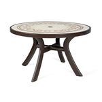 Стол пластиковый круглый Toscana 120 (арт. 0211204-2763) фото, купить в Липецке | Uliss Trade