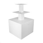 Стол-пирамида с 2-мя выдвигающимися ящиками PВTL-144-406090-2D