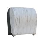 Автоматический держатель бумажных полотенец в рулонах MERIDA UNIQUE SOLID CUT MARBLE LINE фото, купить в Липецке   Uliss Trade