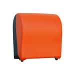 Автоматический держатель бумажных полотенец в рулонах MERIDA UNIQUE SOLID CUT ORANGE LINE фото, купить в Липецке   Uliss Trade