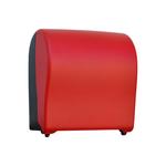 Автоматический держатель бумажных полотенец в рулонах MERIDA UNIQUE SOLID CUT RED LINE фото, купить в Липецке   Uliss Trade