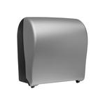 Автоматический держатель бумажных полотенец в рулонах MERIDA UNIQUE SOLID CUT SILVER LINE фото, купить в Липецке   Uliss Trade