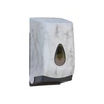 Диспенсер листовой туалетной бумаги MERIDA UNIQUE MARBLE LINE фото, купить в Липецке | Uliss Trade