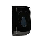 Диспенсер листовой туалетной бумаги MERIDA UNIQUE PIANO BLACK LINE фото, купить в Липецке | Uliss Trade