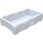 Пластиковый ящик 825х500х190 мм для рыбы фото, купить в Липецке | Uliss Trade