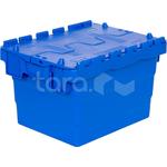 Пластиковый ящик с крышкой 400x300x250 фото, купить в Липецке | Uliss Trade