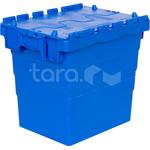 Пластиковый ящик с крышкой 400x300x365 фото, купить в Липецке | Uliss Trade