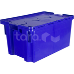 Пластиковый ящик с крышкой 600x400x315 фото, купить в Липецке | Uliss Trade