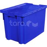 Пластиковый ящик с крышкой 600x400x415 (арт. 605-1) фото, купить в Липецке | Uliss Trade