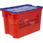 Пластиковый ящик с крышкой 600x400x415 (арт. 606-1) фото, купить в Липецке | Uliss Trade