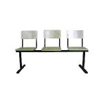 Секция стульев СМ 6/3-01 фото, купить в Липецке | Uliss Trade