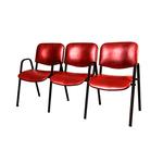 Секция стульев Визо трёхместная фото, купить в Липецке | Uliss Trade