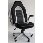 Геймерское кресло из экокожи черное RT-227 фото, купить в Липецке | Uliss Trade