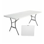 Прямоугольный стол-книжка пластиковый разборный, арт.СТР180 фото, купить в Липецке | Uliss Trade